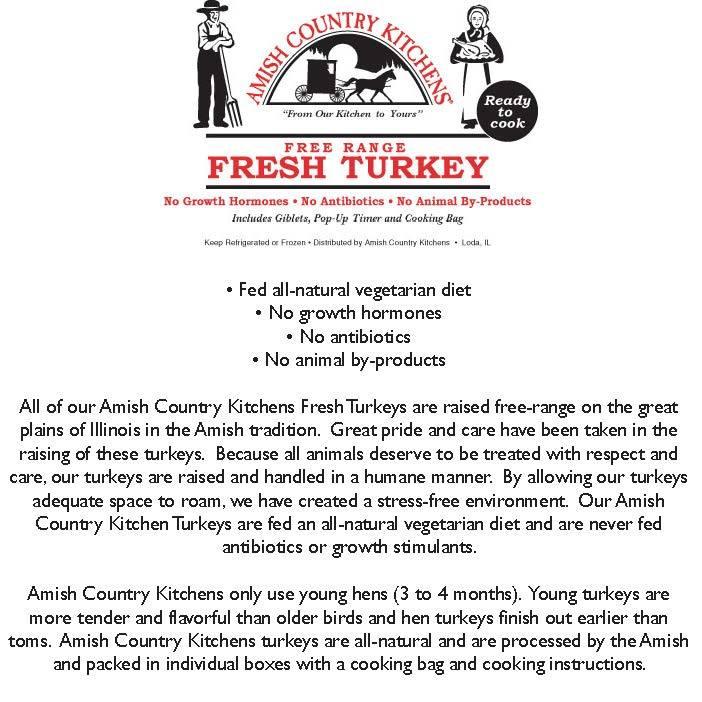 Amish Country Kitchens Turkey